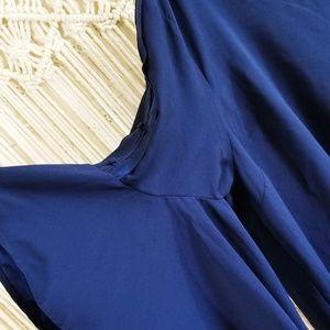 Lane Bryant Tops - 🦚 Boho Ruffle Bell Sleeve Open Back Tie Blouse 🦚